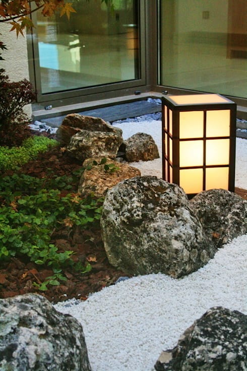 Jardines Japoneses -- Estudio de Paisajismo의 실내 정원