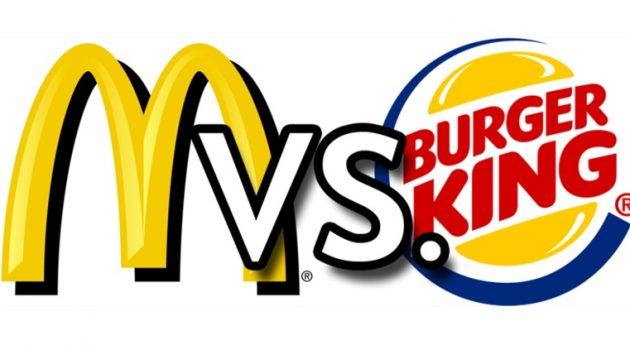 맥도날드 Vs. 버거킹: 전통의 강자, 그리고 위협하는 도전자