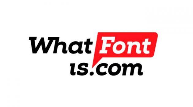 이미지로 폰트 이름을 찾는다? 무료 인공지능 웹서비스 'What Font Is'