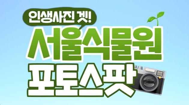 서울식물원 포토스팟 Best 4! 여기만 가면 서울식물원 탐방 끝!