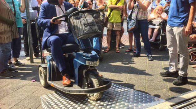 """""""장애는 사람에게 있는 것이 아닙니다, 도시 환경에 있습니다"""""""