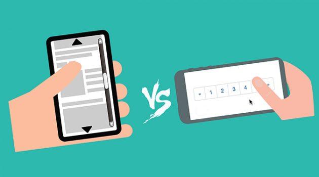 UX: 무한 스크롤 vs. 페이지네이션, 어떤 인터페이스가 더 좋을까?