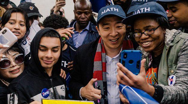 미국 민주당 대선 후보 중 가장 흥미로운 행보를 보이는 앤드루 양