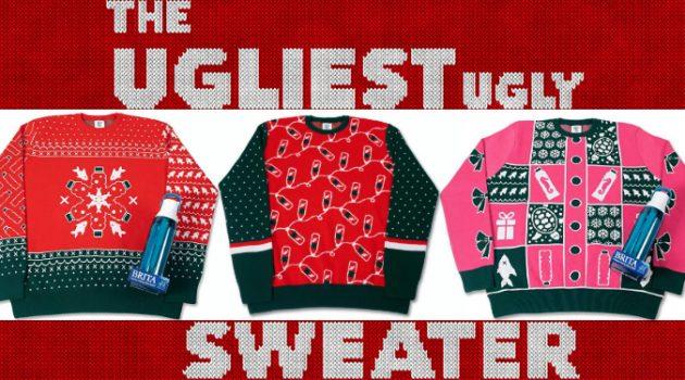 크리스마스 어글리 스웨터 중 가장 못생긴 스웨터