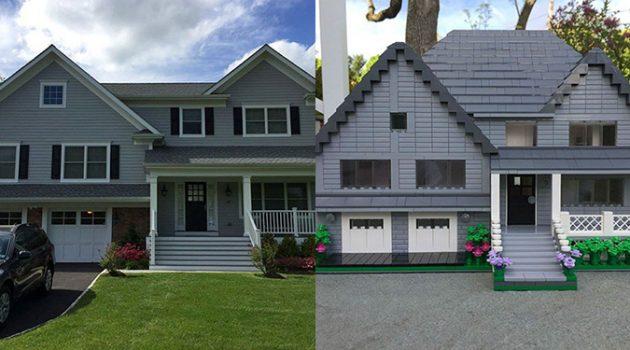 당신의 집을 레고 블록으로 만들어 드립니다