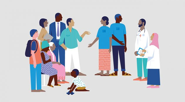 감염병 대책, 지역사회와 함께