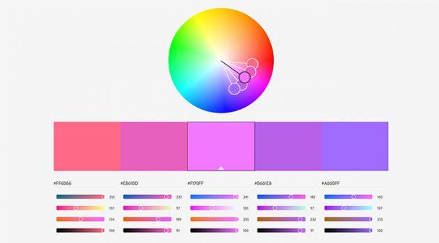 이거 하나면 색상 조합 끝! 인기 컬러 팔레트 사이트 7선