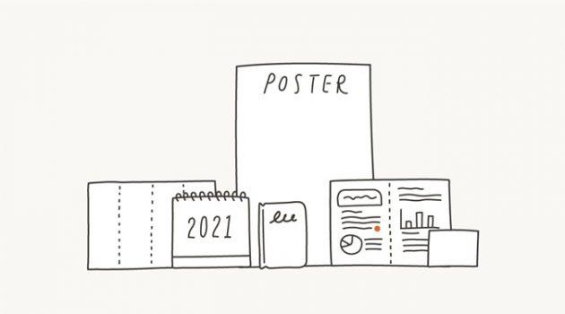 인쇄물 디자인 종류, 형태 알아보기