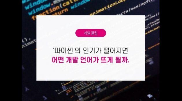 '파이썬'의 인기가 떨어지면 어떤 개발 언어가 뜨게 될까?