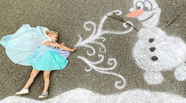 코로나19 이기는 환상의 모험, 엄마의 깜짝 그림 솜씨