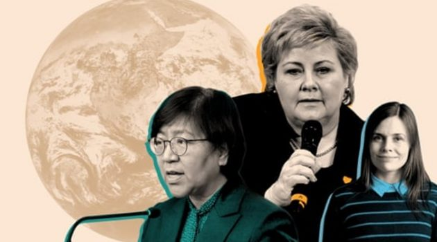 코로나19와 전 세계의 여성 지도자들