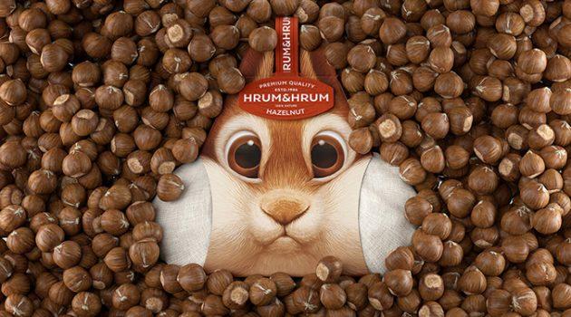 볼 빵빵 다람쥐, 깜찍한 패키지 디자인 아이디어