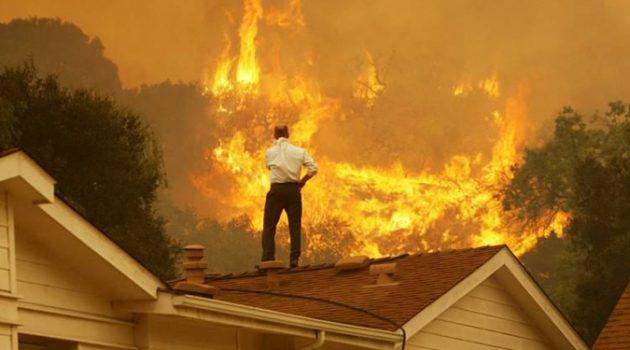 미국 서부에서 진행 중인 사상 최악의 산불