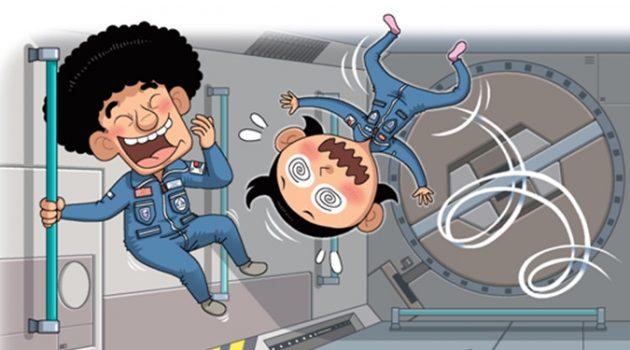 우주선에서 도대체 무슨 일이 일어난 거야?