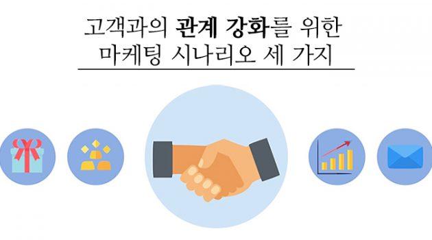 고객과의 관계 강화를 위한 이커머스 마케팅 시나리오