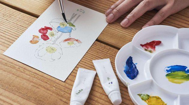 그림에서 꽃 냄새가… 자연의 향기가 나는 물감