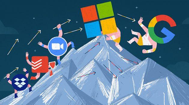 애플, 구글, 마이크로소프트 같은 '테크 골리앗'과 경쟁하는 법