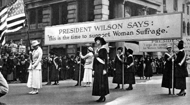 1872년 11월, 수잔 앤서니 자매들이 첫 대통령선거 투표를 하다