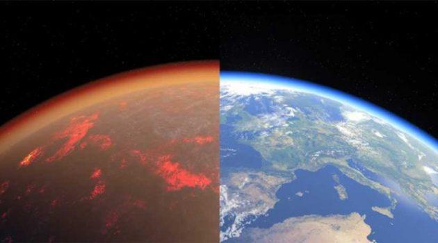 지구 탄생 직후 대기는 금성과 비슷했다?