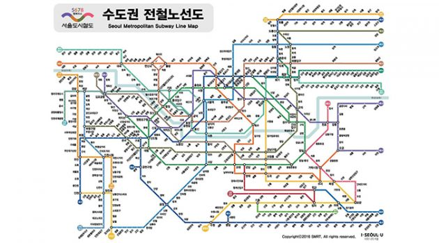 지하철 노선이 구불구불한 이유