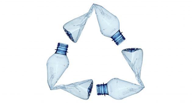 플라스틱 쓰레기를 입으세요