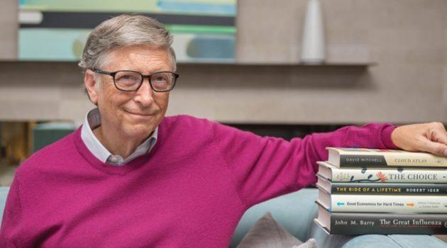 빌 게이츠, 독서에 대해 뉴욕 타임스와 인터뷰하다