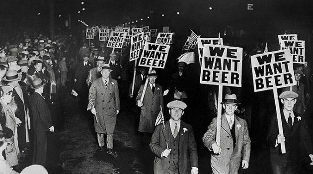 술 마시는 것을 법으로 금지한다면?