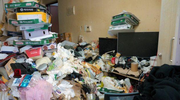쓰레기방에서 살아본 적 있나요