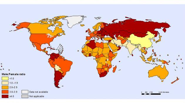 법 제도의 여성차별이 여성 자살률에 미치는 영향